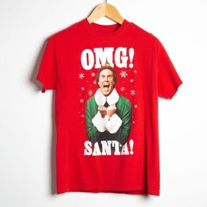 4 FOR $28 OMG Santa! Will Ferrell Elf T-Shirt